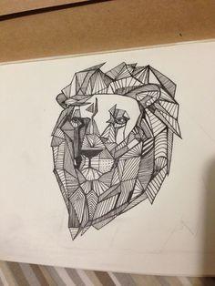 I'm not a big fan of the lion, but I like the lines in it, looks cool