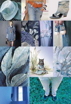 Denim Heaven 2 Mood Board
