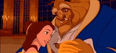 Belle and the Beast dress up for a ball.   repeating short video clip   http://likes.com/disney/belle-gifs?page=11=eyJjbGlja19pZCI6NzU5NDE4NTg2LCJwb3N0X2lkIjpudWxsfQ