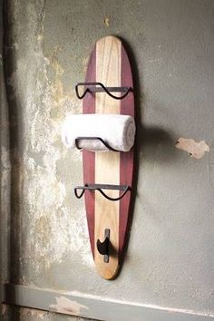 Country Originals CQ6600 Surfboard Towel Rack