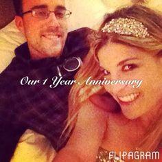 Our one year anniversary @themissioninn #riverside #california #beautiful #love Follow me now on Instagram @ashleesarajones