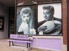 The Lucille Ball- Desi Arnaz Museum in Lucy's hometown, Jamestown, NY. I want to visit this place soooo bad! Jamestown Ny, I Love Lucy Show, Lucille Ball Desi Arnaz, Lucy And Ricky, Life Touch, Classic Tv, Vintage Advertisements, Comedians, Movie Stars