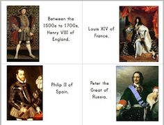 And Here We Go!: History Sentence Review Cards