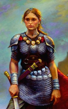 Gwenllian Ferch Gruffydd (1097-1136) Welsh princess and shield-maiden that led an army against Norman-English forces at Kidwelly Castle. She was beheaded as a warning to the other princes of wales. After this, Wales unified and drove out the Norman invaders.