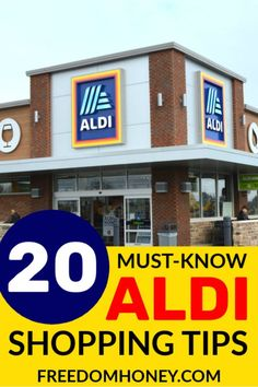 Save even more at Aldi with these Must-Know Aldi Shopping Tips! Saving money on groceries by learning these tips for shopping at ALDI. Aldi Shopping, Aldi Store, Shopping Hacks, Grocery Savings Tips, Savings Planner, Aldi Offers, Saving Tips, Saving Money, Discount Grocery