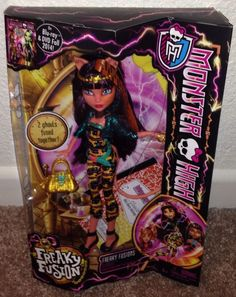 Monster High Freakie Fusion Cleolei NEW Just Released IN HAND #MonsterHigh