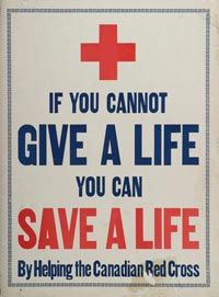 Canadian Wartime Propaganda - First World War Canadian Red Cross, American Red Cross, Cross Quotes, Charity Poster, International Red Cross, Unknown Quotes, Cross Pictures, Medical History, Cross Designs
