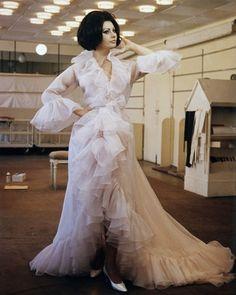 Glamorous Vintage Peignoir Set worn by Sophia Loren