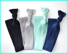 Party favors hair ties jewelry and accessories by SoSplashyDesigns Elastic Hair Ties, Elastic Headbands, Yoga Party, Yoga Headband, Hair Tools, Party Favors, Etsy Seller, Hair Accessories, Trending Outfits