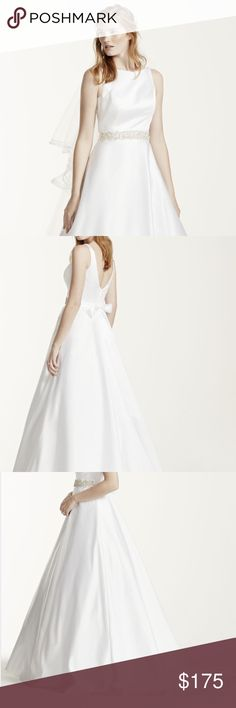 Ivory wedding gown Brand new, never worn, still in packaging! David's Bridal Dresses Wedding