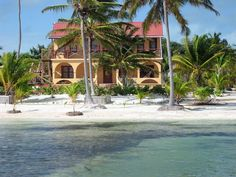 mansions on the beach | Portofino Mansion, Exclusive, Private House, Ambergris Caye, San Pedro ...