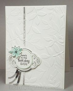 I made this card for the Global Design Project Challenge #090, which is a sketch this week, except I did a mirror image of the sketch: Flirty Flowers was another stamp set that called my name, and wh