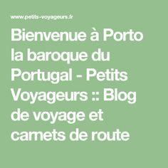 Bienvenue à Porto la baroque du Portugal - Petits Voyageurs :: Blog de voyage et carnets de route