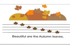 """This is a flipped classroom lesson for Kindergarten and grade. In this lesson we will be talking about notes going up and down. Since """"Autumn Leaves are . Music Class, Music Education, Autumn Leaves, Good Music, Flipped Classroom, Songs, Fall, Curriculum, Youtube"""