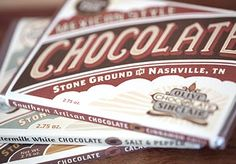 Southern. Original. Delicious. #Nashville's Olive & Sinclair Chocolate Co. chocolates are all that and more.