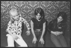 Debbie Harry,Suzi Quatro and Joan Jett in 1977