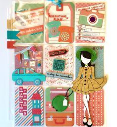 On Vacation Pocket Letter by Jackie Benedict. Whether you're staying home or traveling abroad...