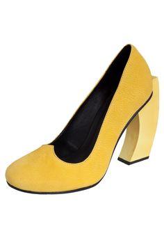 Scarpin Milaa Amarelo - Marca Milaa