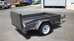 Buy New 2013 Positive Quality Trailers box trailer with beavertail and bi fold ramp for sale by - . Box Trailer, Toyota Tacoma, Camper Trailers, Diesel Engine, Offroad, Trucks, Range, Cookers, Off Road