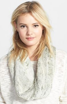 BP. BP. Faux Fur Infinity Scarf available at #Nordstrom
