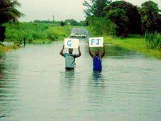 Even when it floods Fiji Rugby is still on our minds!