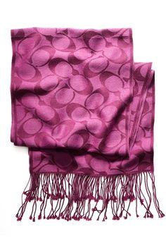 LOVE this coach scarf!!!