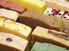 Olive Oil Soap with Exotic Butters- You Choose 3