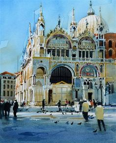 """St. Marks"" - Original Fine Art for Sale - © David Morris"
