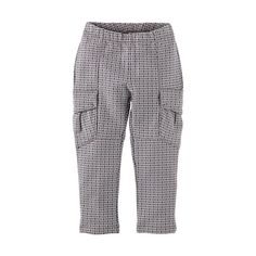 Print French Terry Cargo Pants | Adventure-ready cargos designed for all the places she'll go.