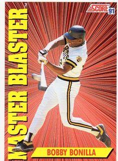 1991 Score Baseball Card Master Blaster Bobby Bonilla