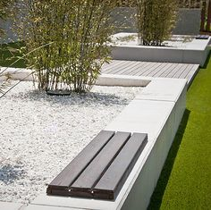Agi Architects, Interior Minimalista, Garden Buildings, Street Furniture, Outdoor Furniture, Outdoor Decor, Sun Lounger, Sidewalk, Landscape