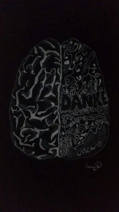 Draw Brain by artist Oana