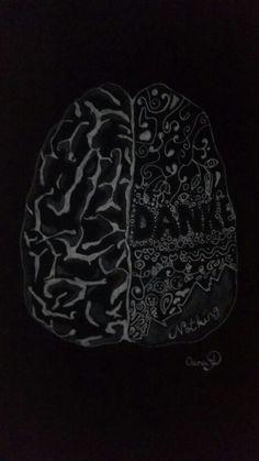 Draw Brain by artist Oana