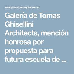 Galería de Tomas Ghisellini Architects, mención honrosa por propuesta para futura escuela de música en Italia - 10