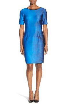 T Tahari 'Dakota' Short Sleeve Sheath Dress available at #Nordstrom