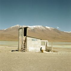Public Bathrooms  in the middle of nowhere, Bolivia ©Robert Kaczynski