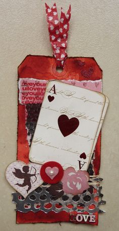 Céline´s Creaties: Tim Holtz tags of 2013-february