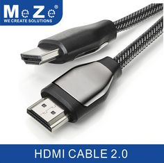 HDMI Cable - Cinema Series (Nylon Braided, 6.5 Feet) - 18Gbs Latest 2.0 Supports Ethernet, 4K