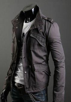 jaquetas masculinas militar - Pesquisa Google