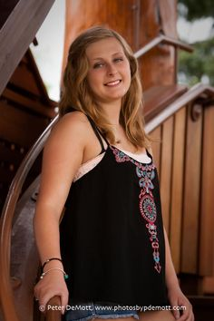 http://www.photosbypdemott.com  Dayton area senior portrait photographer