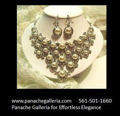 Passion for Pearls  www.panachegalleria.com