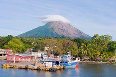 Concepcion volcano and Ometepe island, Nicaragua. Photograph: Alamy