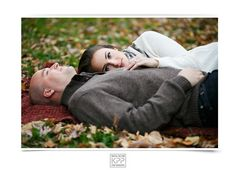 Philadelphia Fall Engagement Session | Washington Square Park | Krista Patton Photography