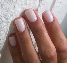 Nageldesign - Nail Art - Nagellack - Nail Polish - Nailart - Nails Cate Hot Trends in Women's Wigs a Opi Nails, Nude Nails, Neutral Gel Nails, Simple Gel Nails, Simple Elegant Nails, Gel Manicures, Matte Nails, Milky Nails, New Nail Trends