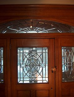 love the leaded glass
