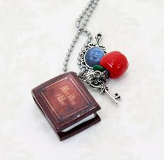 Once Upon A Time Necklace V2 Henry's Book Poison by JegasCreations, $19. I so want this!