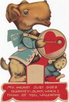 Doggie drummer Valentine.