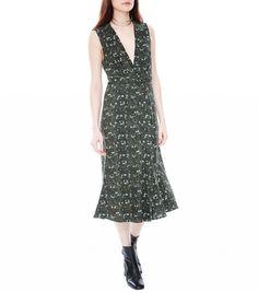 Veda Sage Silk Dress