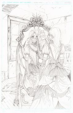 Southern Nightgown Teaser Pencils -Page 1 by Dawn-McTeigue.deviantart.com on @deviantART