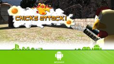 Chicks Attack 3D FPS - First Look (Android Gameplay)